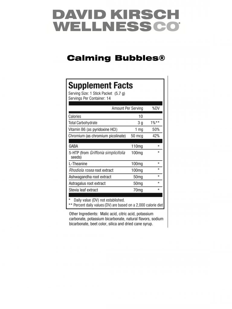 17. Calming Bubbles