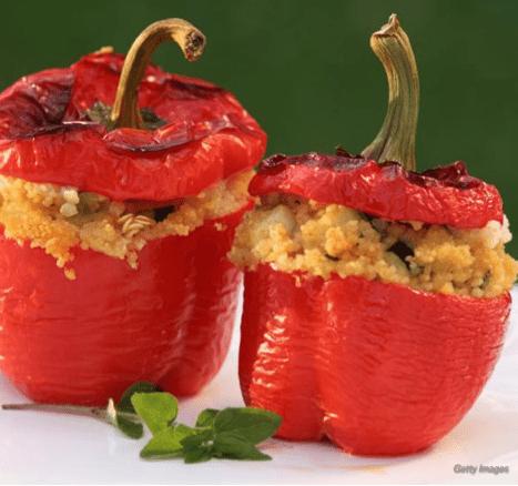 Healthy Stuffed Red Pepper Recipe