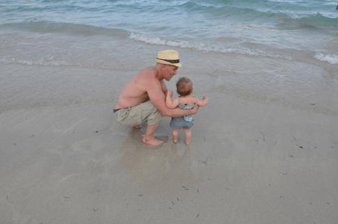 David Kirsch At Beach