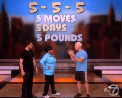 Five Moves Five Days Five Pounds